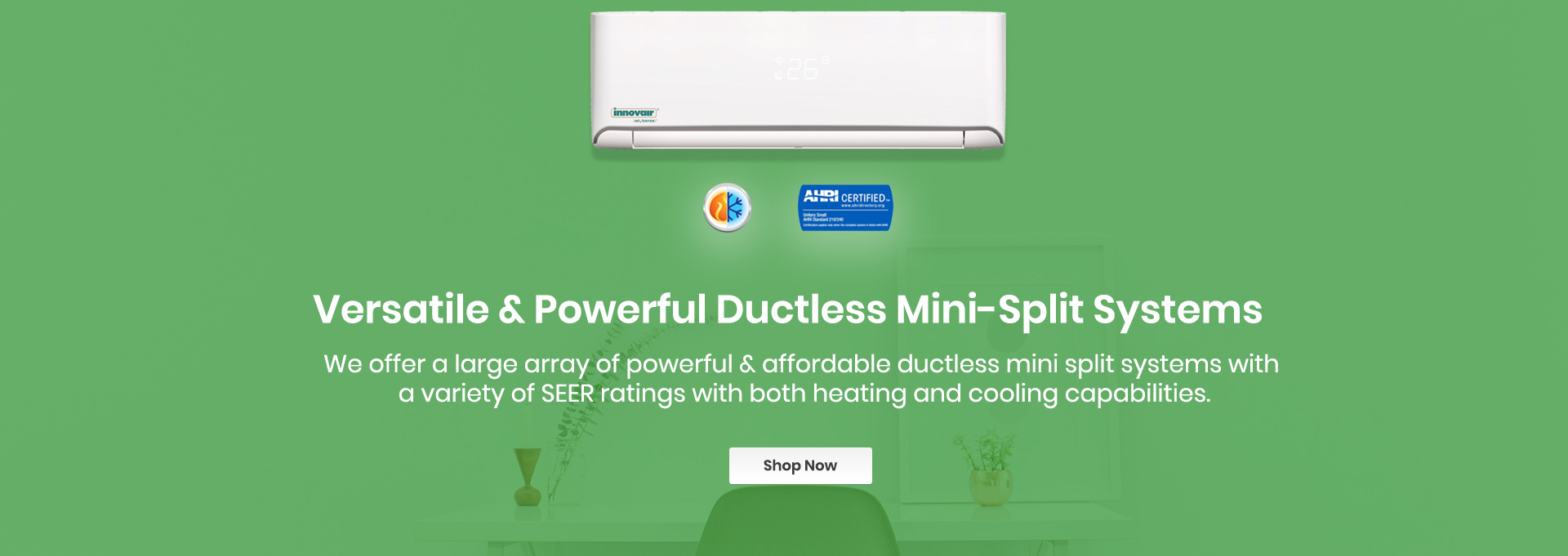 Single Zone Ductless Mini Split Systems